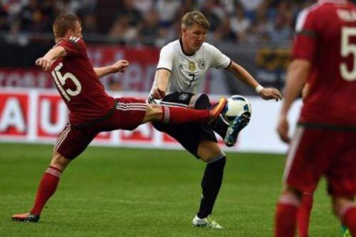 ألمانيا تعبر المجر بثنائية في البروفة الأخيرة قبل ليورو 2016