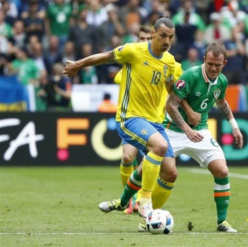 يورو2016..السويد و ايرلندا تتعادلان بهدف لكل
