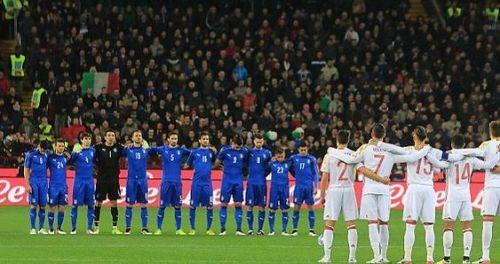 كاندريفا جناح ايطاليا مهدد بالغياب عن مواجهة اسبانيا
