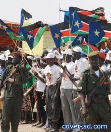 تخطت النصاب القانوني   نسبة المشاركة باستفتاء جنوب السودان تخطت 60%!!!