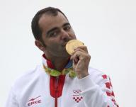 الكرواتي جلاسنوفيتش يفوز بذهبية الأطباق من الحفرة في ريو