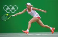 الدنمركية وزنياكي تودع منافسات التنس في ريو وكيربر تتقدم