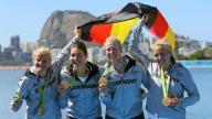 ألمانيا تحصد ذهبية القارب الرباعي في التجديف للسيدات في ريو