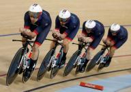 رقم عالمي جديد لبريطانيا في سباق المطاردة للدراجات لفرق الرجال