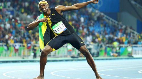 شاهد الفيديو .. الجمايكي بولت يتوشح بذهبية 100 متر في ريو 2016