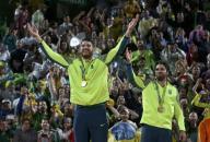 البرازيل تحرز ذهبية الطائرة الشاطئية للرجال في ريو
