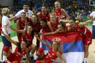 صربيا تفوز ببرونزية السلة للسيدات في ريو بالتغلب على فرنسا