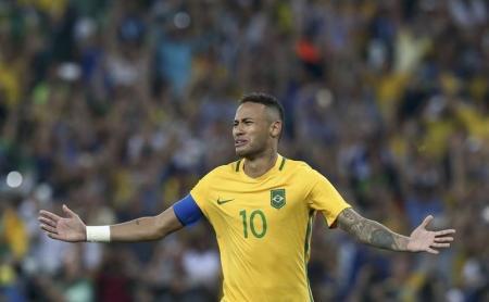 نيمار يقود البرازيل لذهبية كرة القدم الثمينة