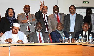 (نداء السودان) يدعو الي تغيير شامل عبر إنتفاضة شعبية