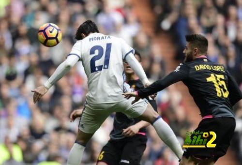 الريال يهزم اسبانيول في الدوري بهدفين