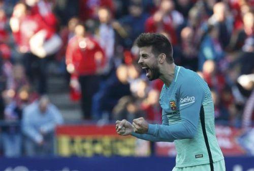 بيكيه لعب دورا كبيرا في بقاء نيمار في برشلونة