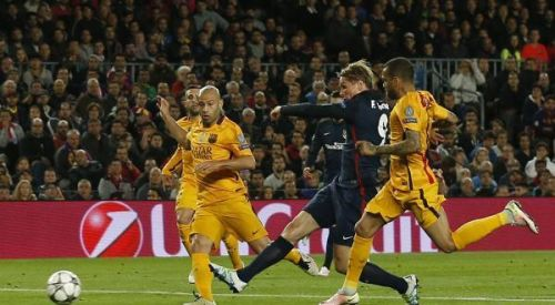 رقم جديد وتحدي امام توريس في مباراة برشلونة