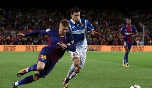 برشلونة يسقط بالتعادل امام اتلتيكو