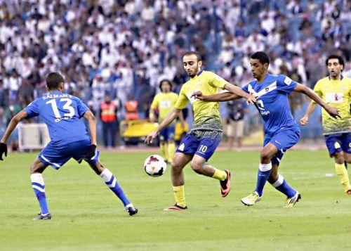الهلال والنصر السعودي في مواجهة قوية اليوم في دوري جميل