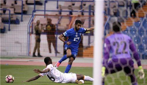الهلال السعودي يتعادل مع الشباب في دوري جميل