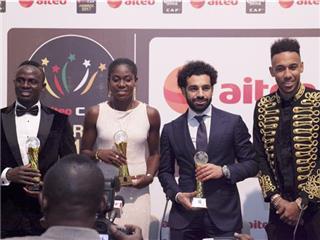المصري محمد صلاح افضل لاعب في افريقيا لعام 2017