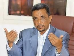 هاشم هارون يلتقي بمدير الشباب والرياضة بغرب دارفور التقى