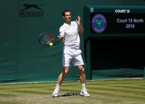 تنس ..موراي يتقدم في بطولة واشنطن المفتوحة للتنس