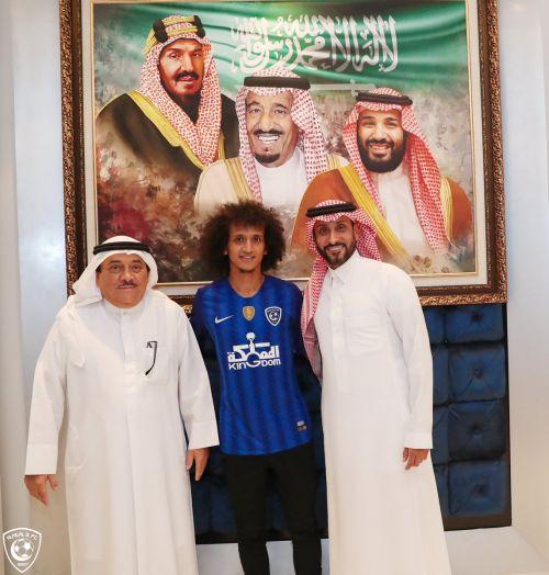 سعودية..الجابر : الجمهور الهلالي سعيد بعودة عموري