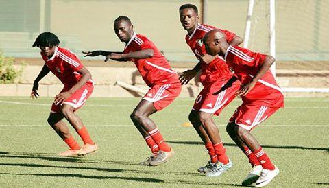 منتخب السودان يخوض تدريبه الأول استعدادًا لمواجهة غينيا الاستوائية