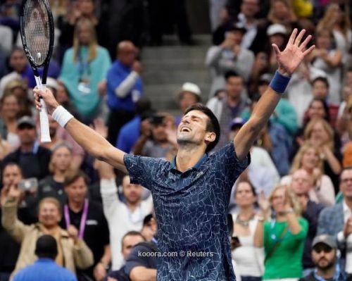 تنس..ديوكوفيتش يهزم ديل بوترو ويحرز لقب أمريكا المفتوحة