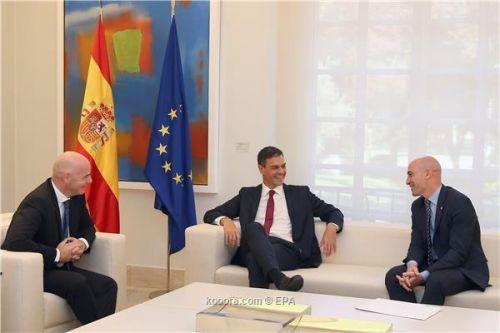 هل يحدث..إنفانتينو يبحث تنظيم إسبانيا للمونديال أو اليورو