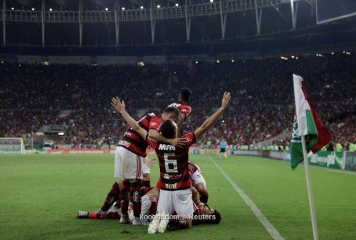 إكتسح فلومينينزي 3-0 .. فلامنجو يصعد إلى وصافة الدوري البرازيلي
