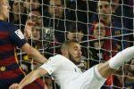 قد يفعلها ..كريم بنزيمة دائما مرعب ضد برشلونة !
