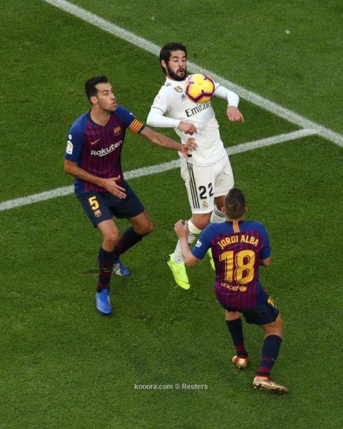 بخماسية مُذلة.. برشلونة يُزيد كبوات ريال مدريد