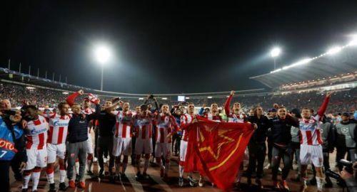 ضربه بهدفين في دوري الأبطال .. النجم الأحمر يفجر المفاجأة ويسقط ليفربول