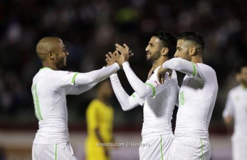 أمم أفريقيا  الجزائر تكسب توجو 4-1