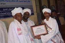 تكريم مثالي للدكتور فيصل عيد بمسجد العزوزاب العتيق