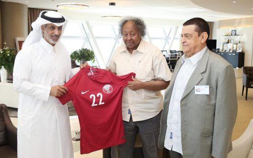 رئيس الاتحاد القطري يستقبل نظيره السوداني للتباحث حول العلاقات الثنائية