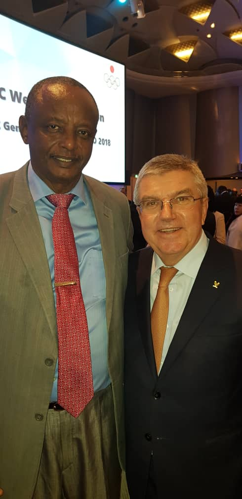 د. صديق الي نيجيريا للإشراف علي ماراثون لاغوس الدولي