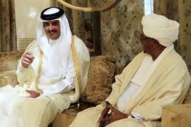 أمير قطر يبعث برسالة الي البشير يسلمها وزير دفاعه