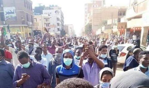 حي خرطومي يخرج في التظاهرات لأول مرة