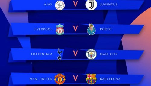 مواجهات قوية في ربع نهائي دوري أبطال اوروبا