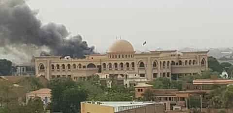 تفاصيل جديدة لحريق القصر الجمهوري