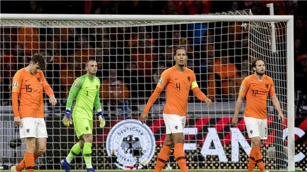 فان ديك يكشف سبب سقوط هولندا امام المانيا بالثلاثية