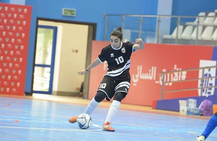 نورس الخالدي سفيرة السعودية في الدوري الكويتي
