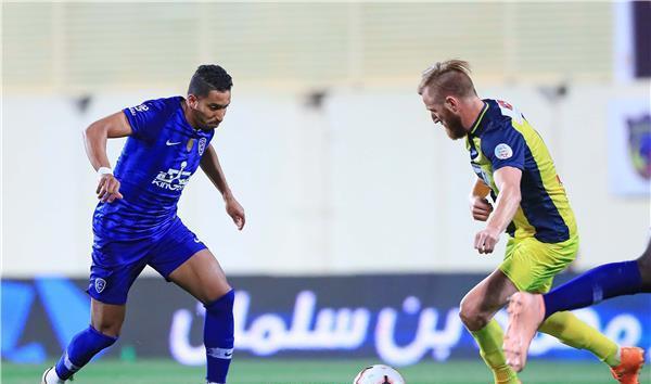 الهلال يهزم الحزم ويحافظ على امله في الفوز ببطولة محمد بن سلمان