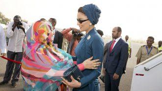 التيار: جوبا تمنع زوجة الرئيس المخلوع وشقيقه المغادرة إلى دبي
