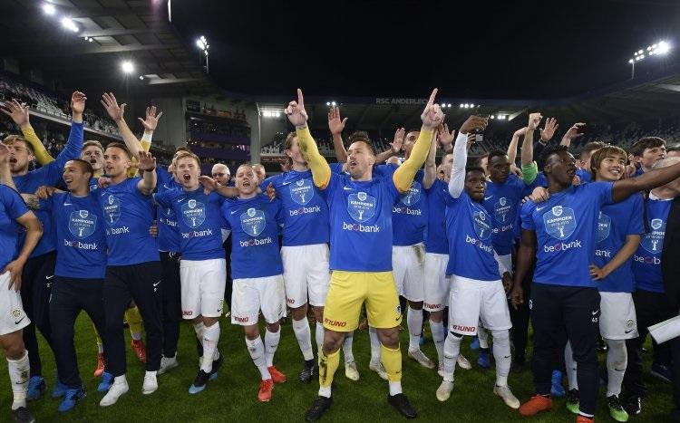 جينك يفوز بالدوري البلجيكي
