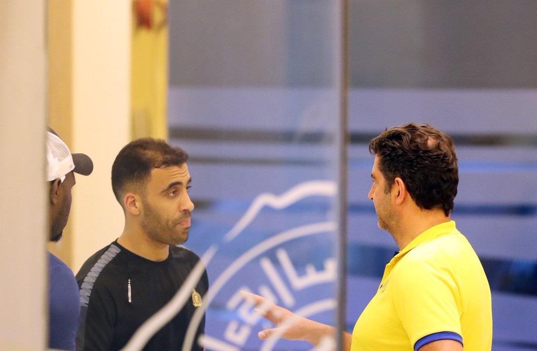 حمد الله :لن اتحدث عن منتخب المغرب واوفيت بكل وعودي مع النصر السعودي