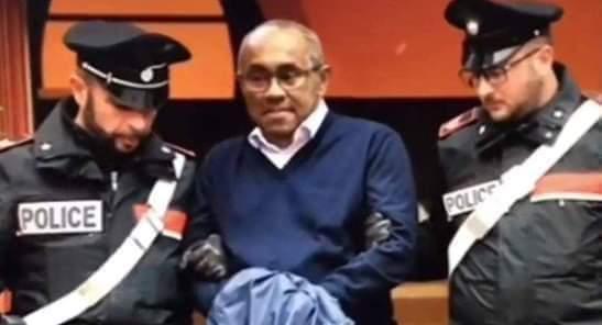 السلطات الفرنسية تطلق سراح رئيس كاف