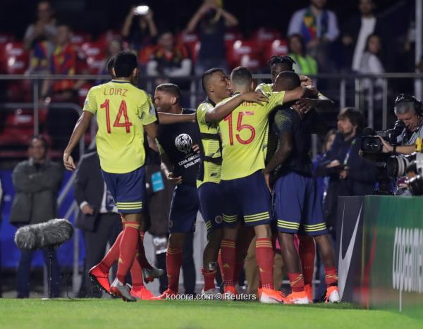 كوبا اميركا..  كولمبيا تجتاز قطر بصعوبة وتعبر للدور الثاني