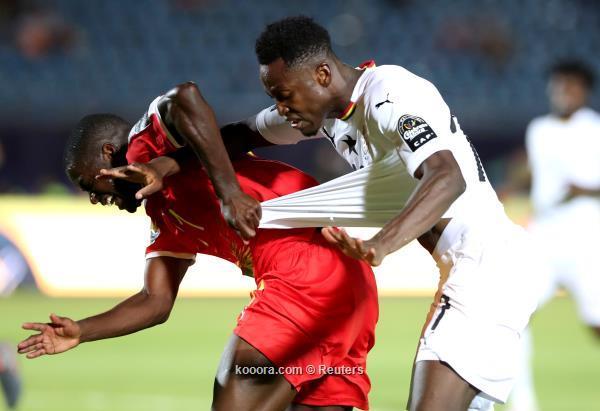 في كأس أمم أفريقيا ..غانا تنتزع صدارة المجموعة بثنائية في غينيا