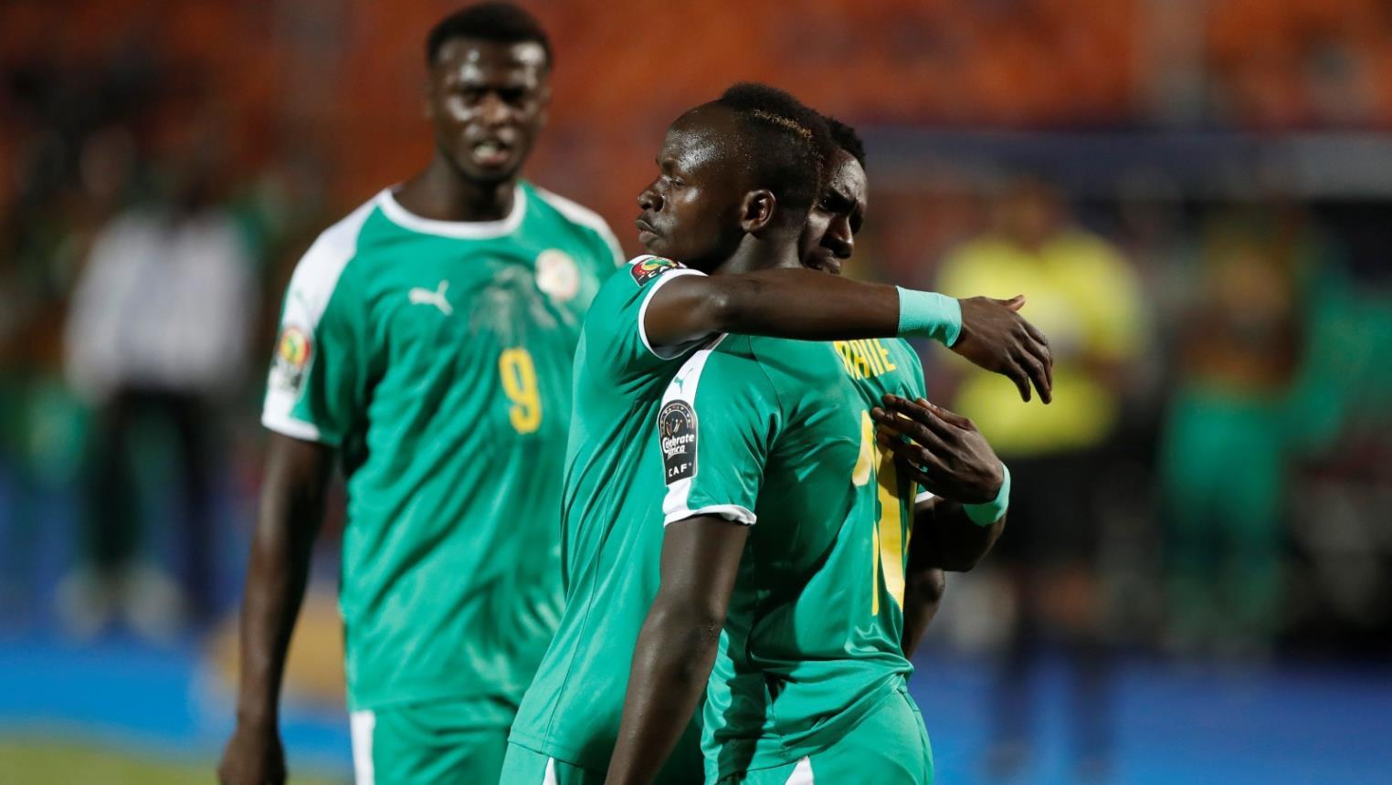 ماني يقود السنغال الى ربع نهائي امم افريقيا 2019
