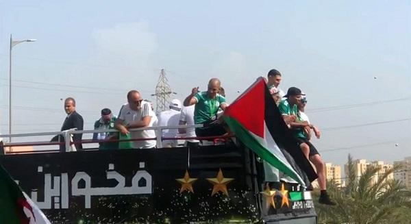 لفتة رائعة من نجم الجزائر فيجولي خلال الاحتفال بالكان