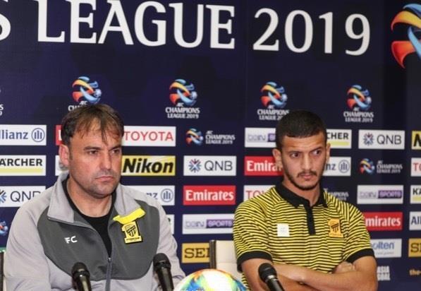 مدرب الاتحاد جدة يؤكد تفوق فريقه على بطل ايران